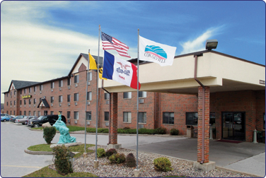 Iowa City Hotels Heartland Inn Hotel 376x252